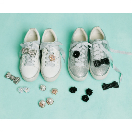 【TO BE CHIC D.I.Y.】Glitter Sneakers